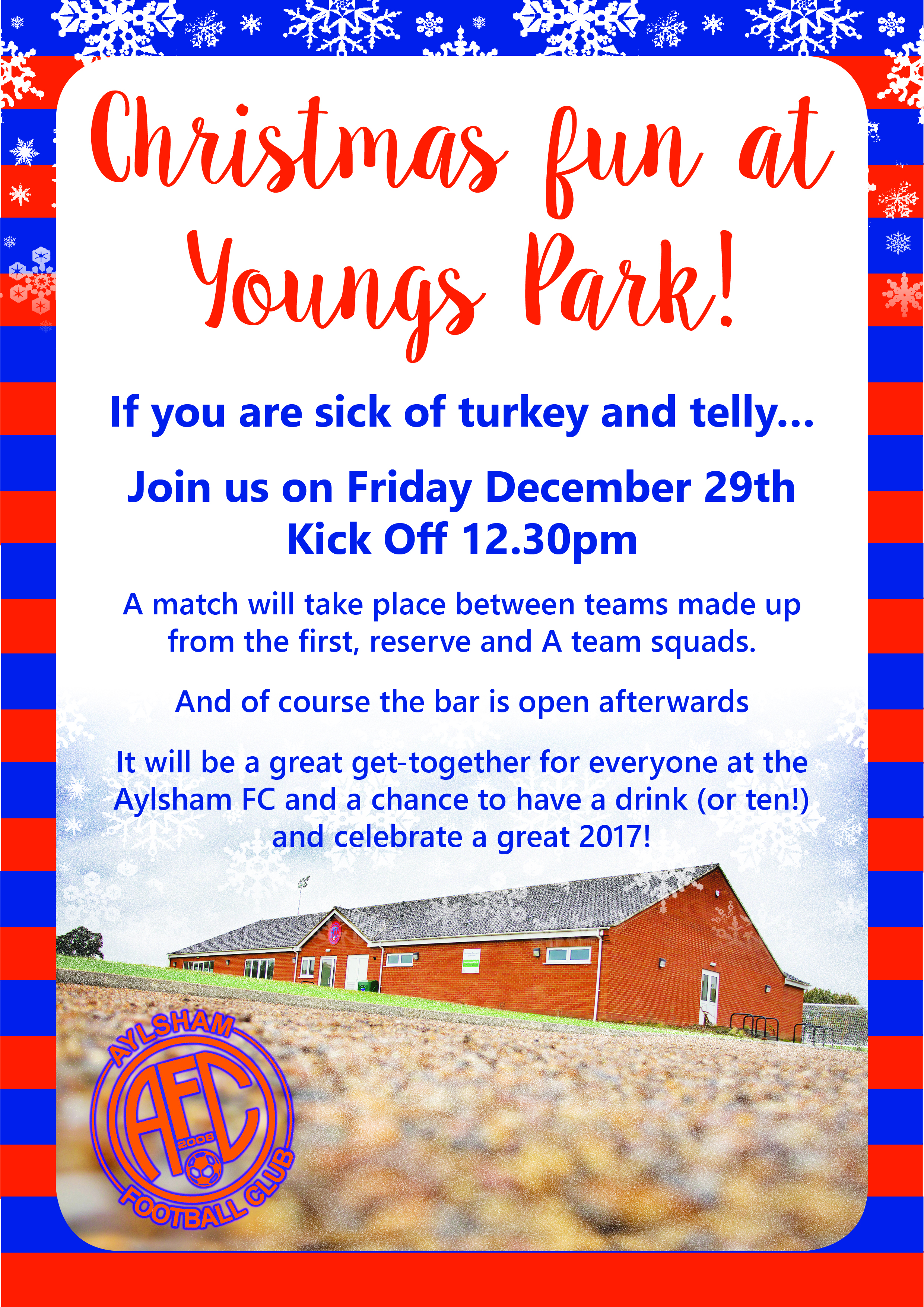 Upcoming events at Youngs Park